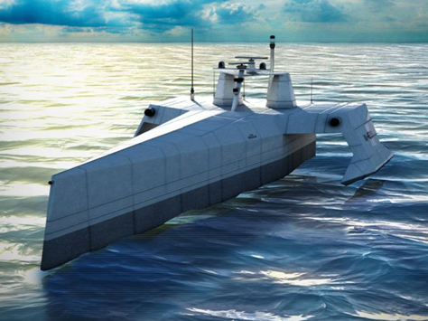 Naval Defense Application Unmanned Sub ACTUV