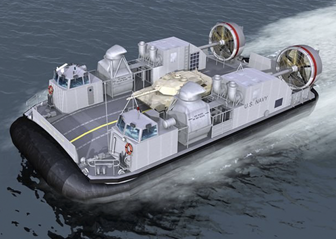 LCAC-SSC Naval Defense Design Example
